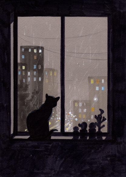 loneliness by Neko-Art