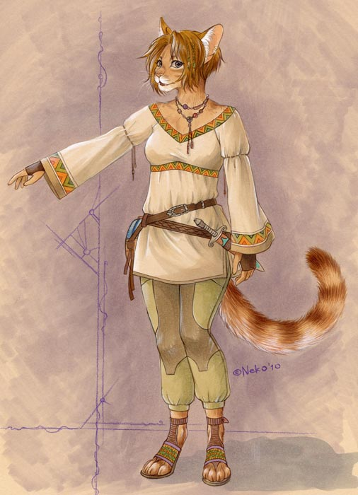 new outfit by Neko-Art