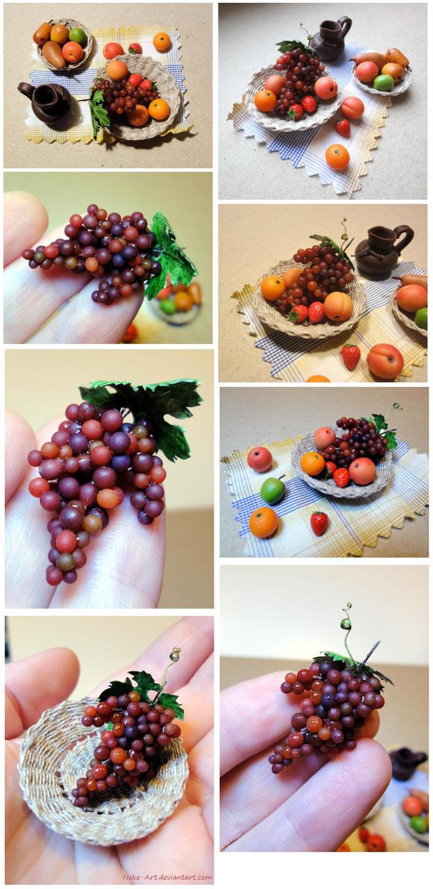Miniature fruits 1:6 by Neko-Art