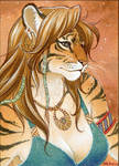 Tigress ACEO commission 01