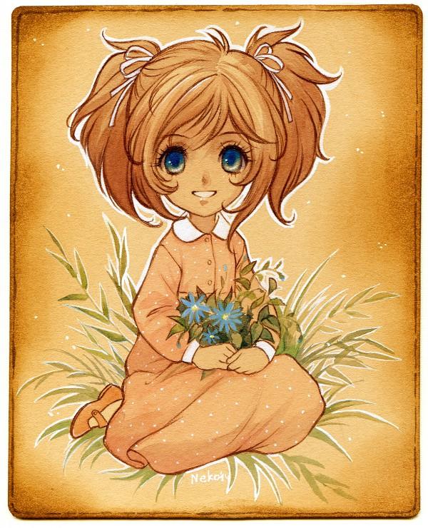 Summer Girl card by Neko-Art