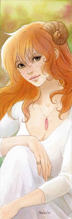 Kaery O'Shenn bookmark by Neko-Art