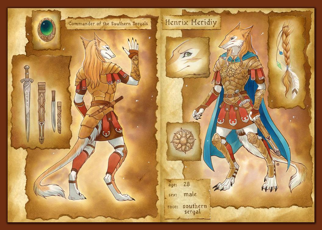 Henrix reference sheet by Neko-Art