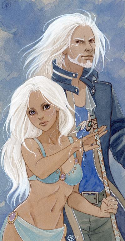 Ari and Brendan by Neko-Art