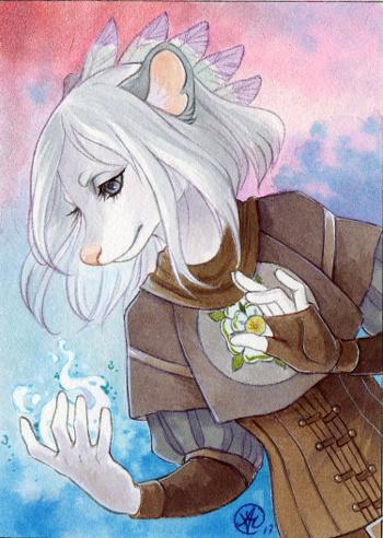 ACEO: Tairin's magic by Neko-Art