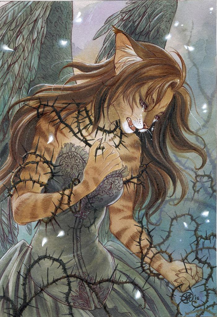 Tears and Pain by Neko-Art