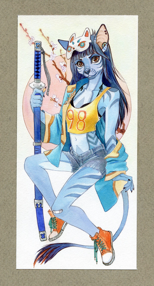 Stern Card by Neko-Art