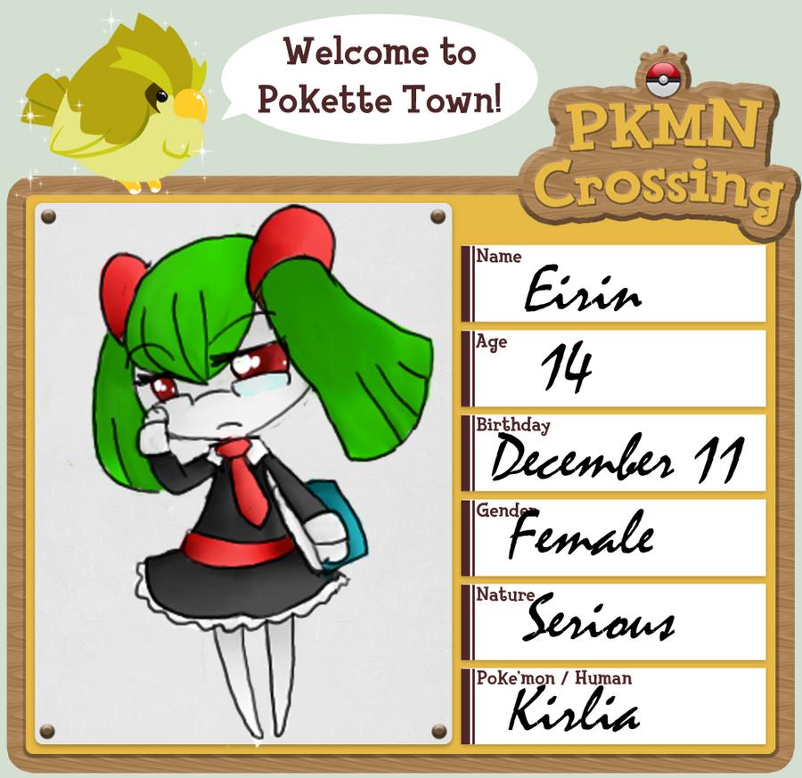 PKMNC APP: Eirin by MollyTheLunatic