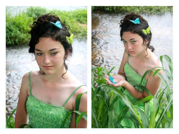 Butterfly Fey by druideye