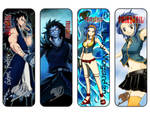 Fairy Tail Bookmarks Gajeel / Levy