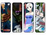 Fairy Tail Bookmarks Elfman / Lisanna