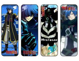 Fairy Tail Bookmarks Jellal / Mystogan