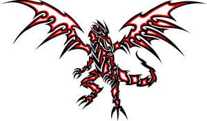Red-Eyes Black Dragon Tattoo