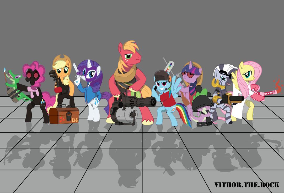 Pony Sprays For Everyone Team Fortress 2 Sprays Meet The Ponies