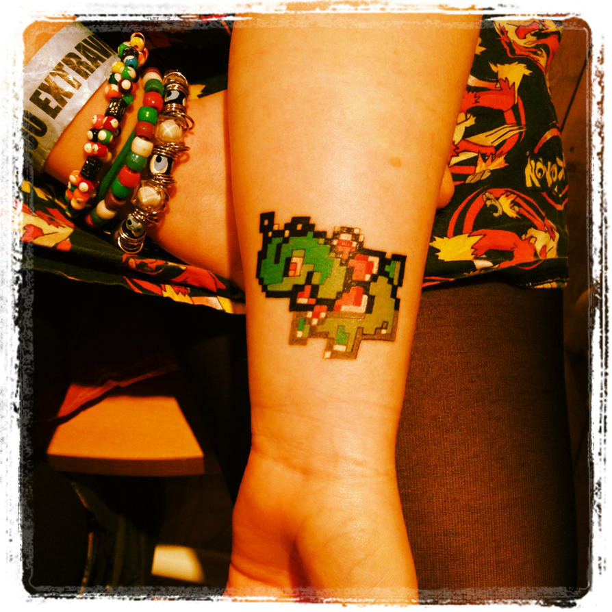 My Pokemon Tattoo by Emisaurx382