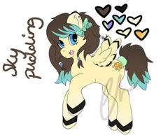 Sky Pudding Adoptable- SOLD by Emisaurx382