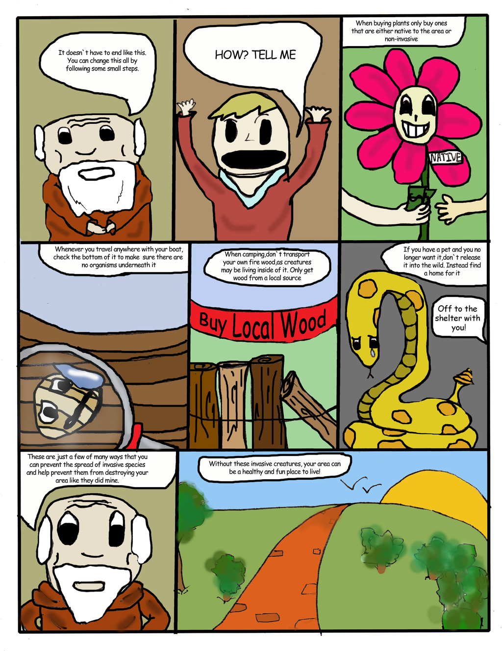 invasive species comic by thesi1enc3r on deviantart