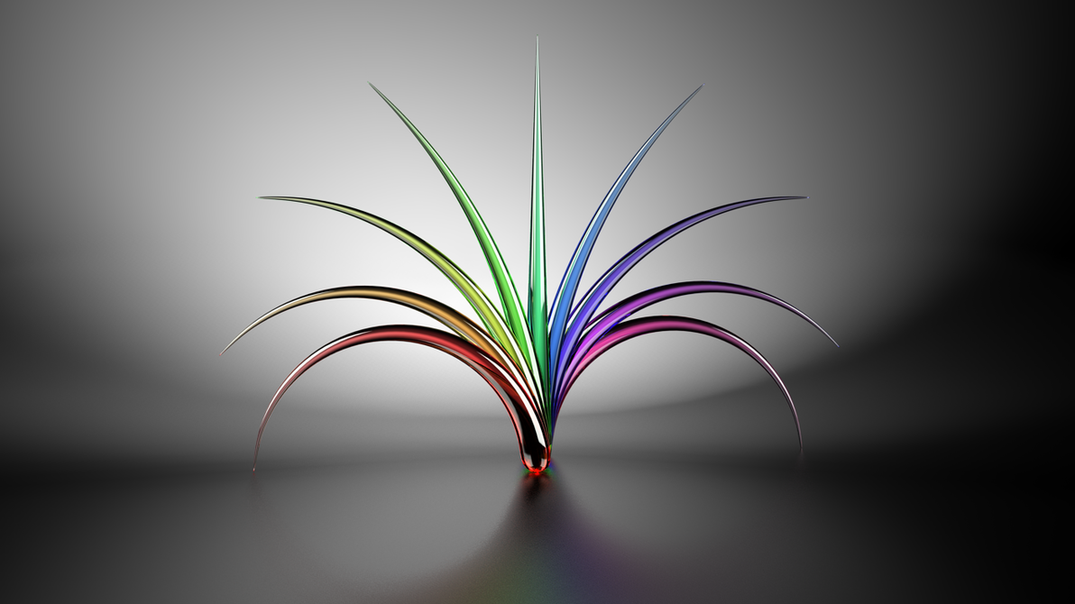 Chromatic Perfection 3D Wallpaper > 3D Wallpapers > 3 Dimensional Wallpapers