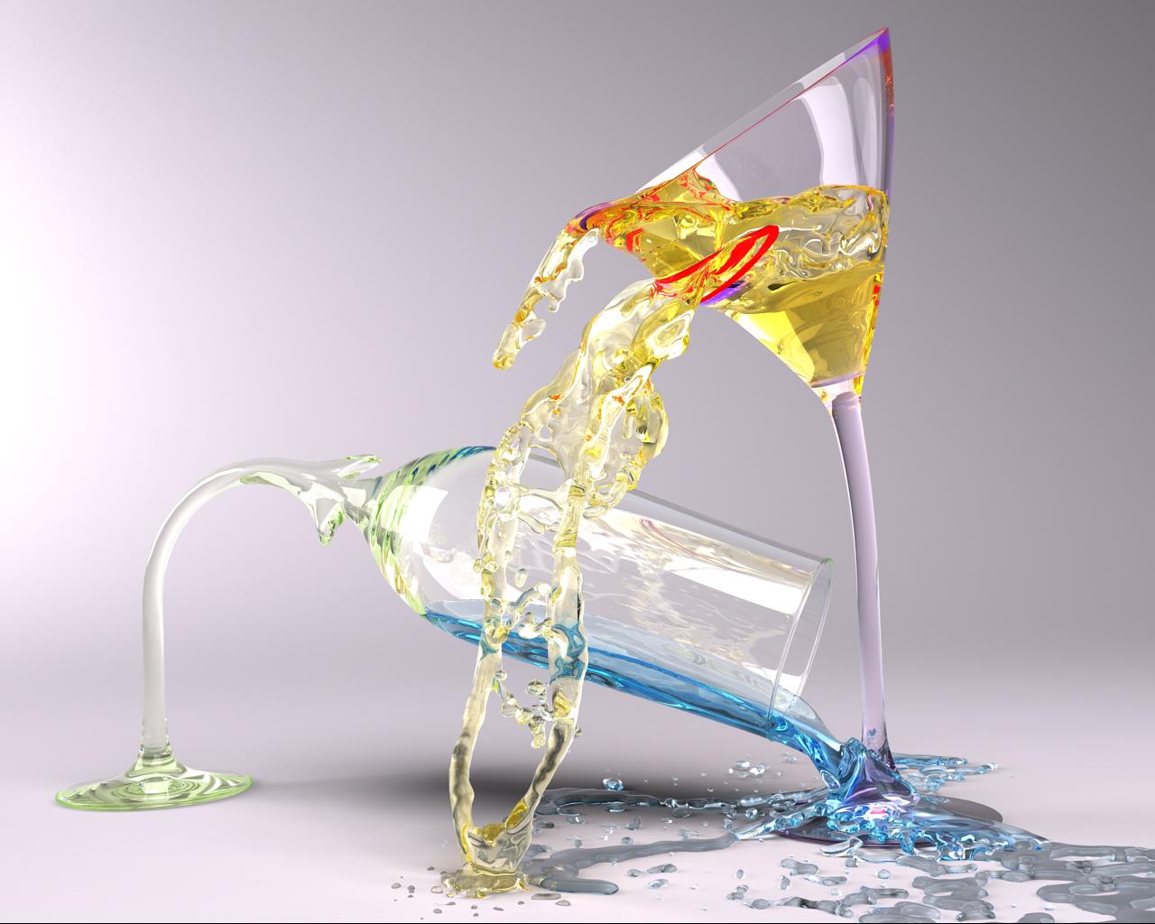 Glassical Emotions: Drunk