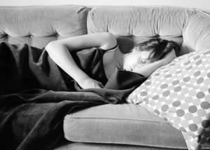 Amanda Sleeping 2