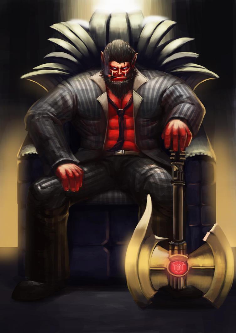 Minion- Thee Boss by Karaku-Aki