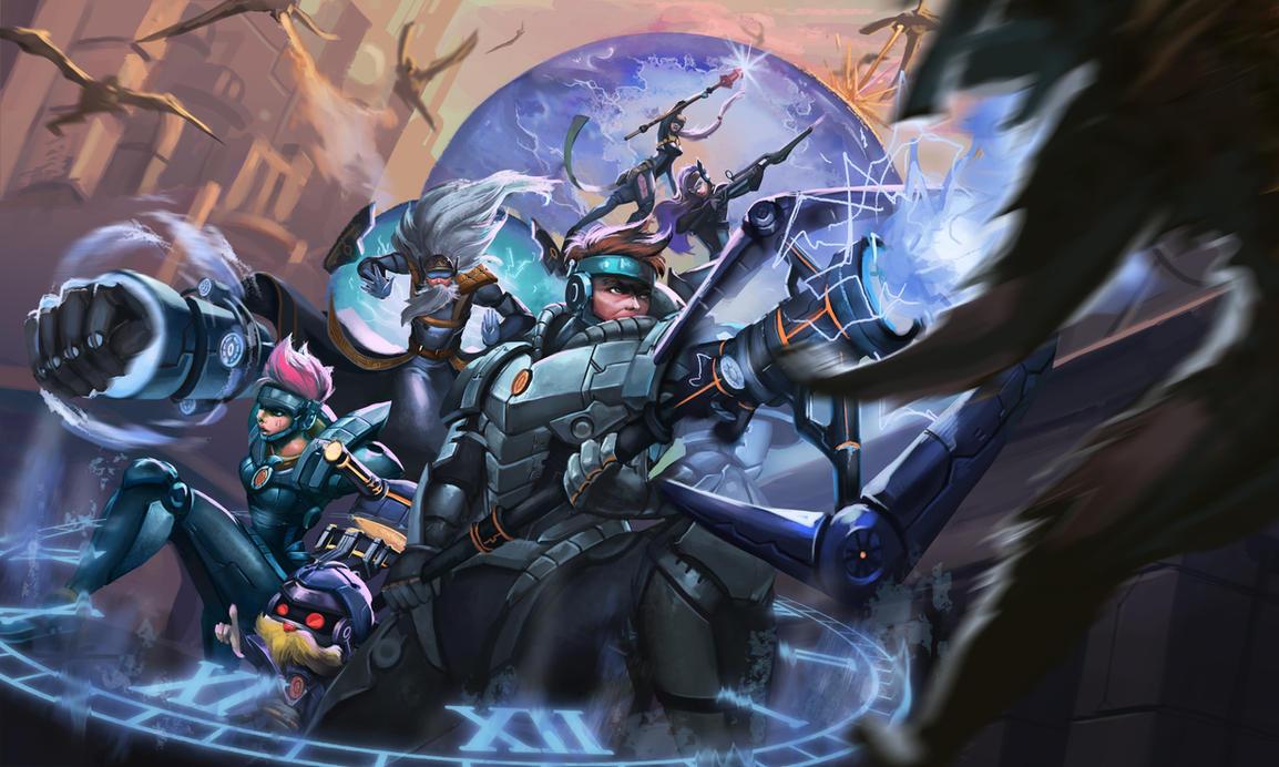 Defenders of Tomorrow by Karaku-Aki