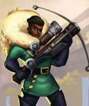 Imani, the Sneaky Sniper