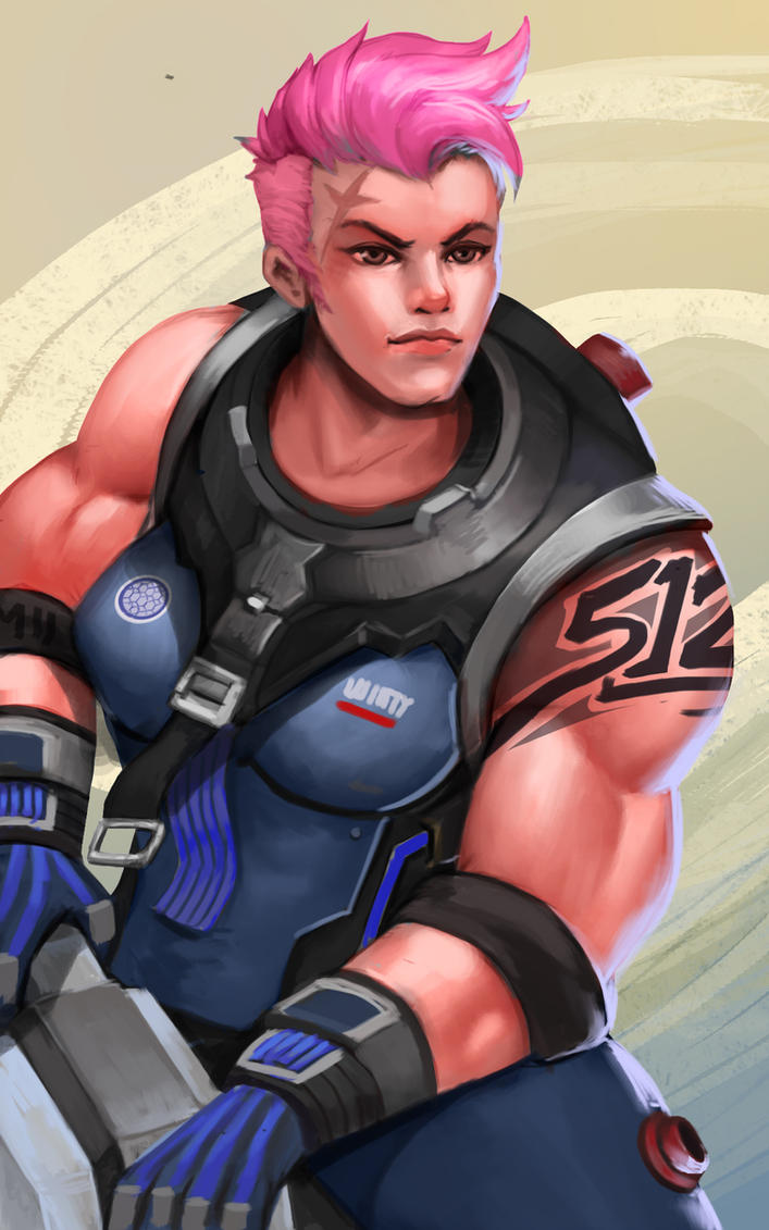 Overwatch Zarya by Karaku-Aki