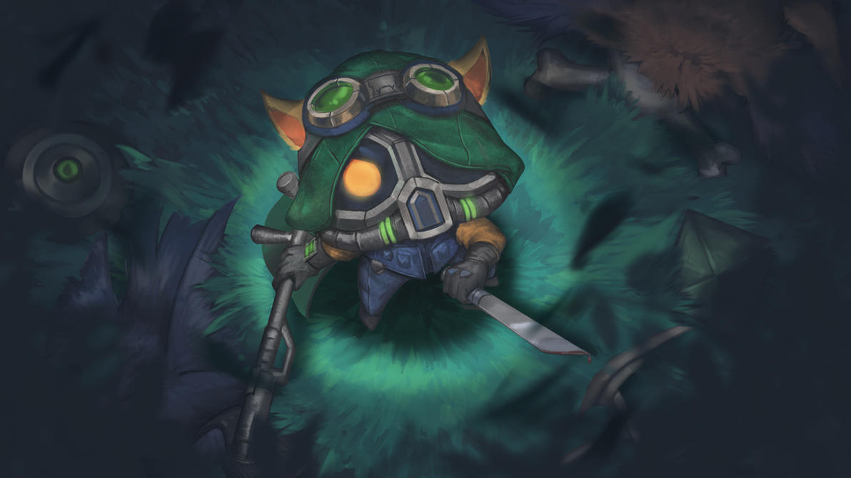Omega Squad Teemo by Karaku-Aki