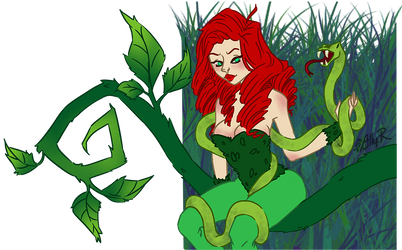 Poison Ivy ~ REQUEST by Lillou-chan