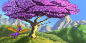 Random Spyro Fanart