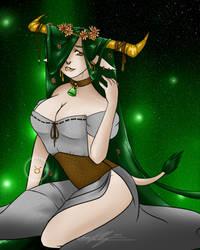 Zodiac Series - 05: Taurus by AlpharieArtist