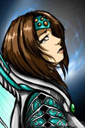 Shana: Legend of Dragoon by AlpharieArtist