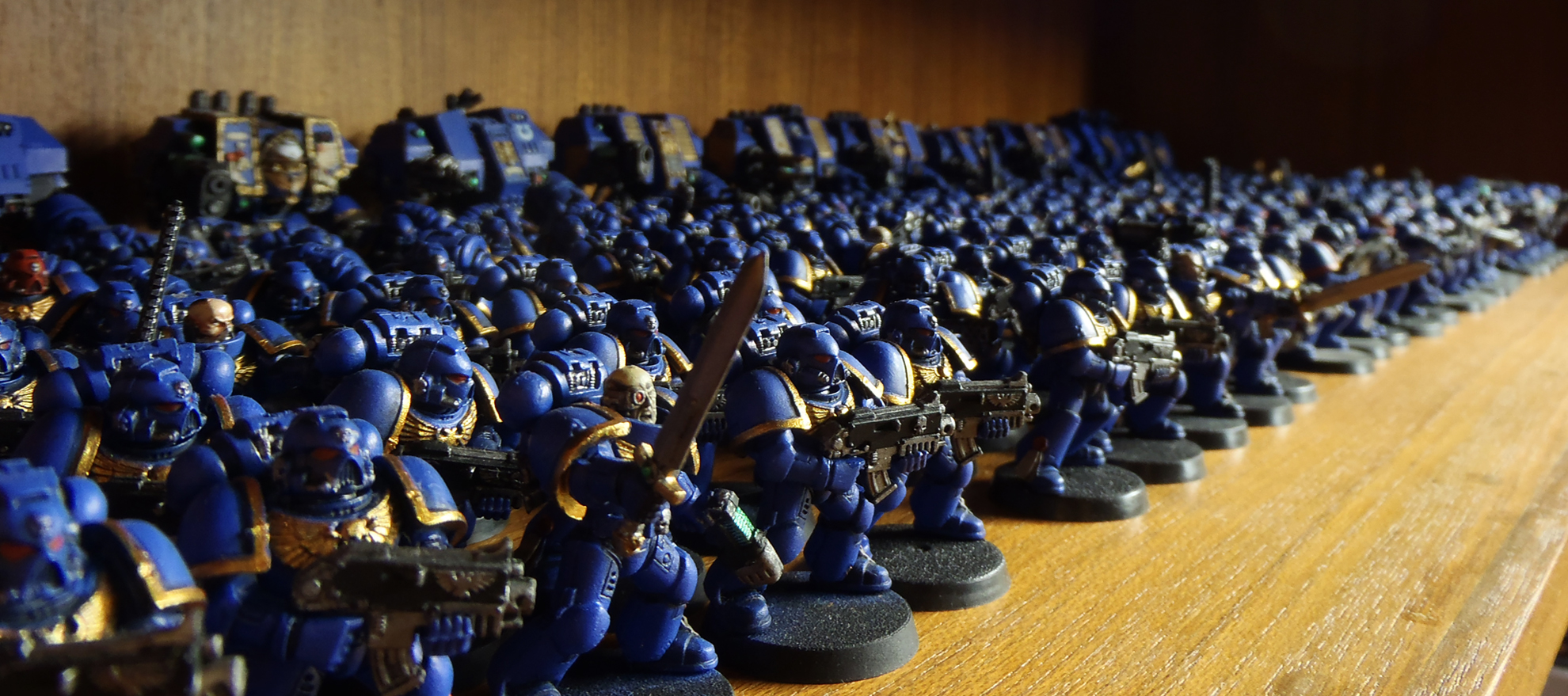 Ultramarines Army My Ultramarines...