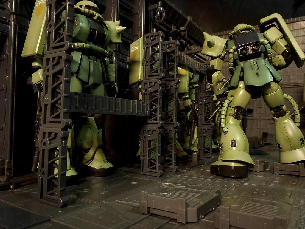 Zaku II Base by DeathS...