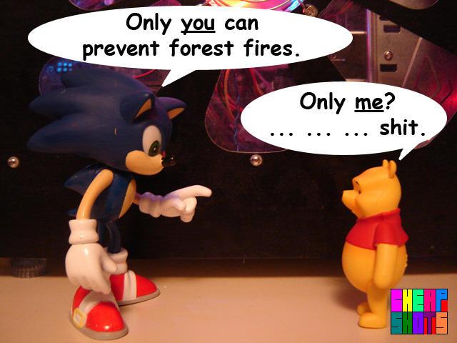 Smokey the Pooh Bear :CS: by LegendaryMaxxx