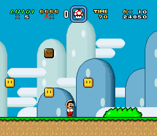 Super Mario World: Luigi Edition ROM Hack Preview by hexteq on