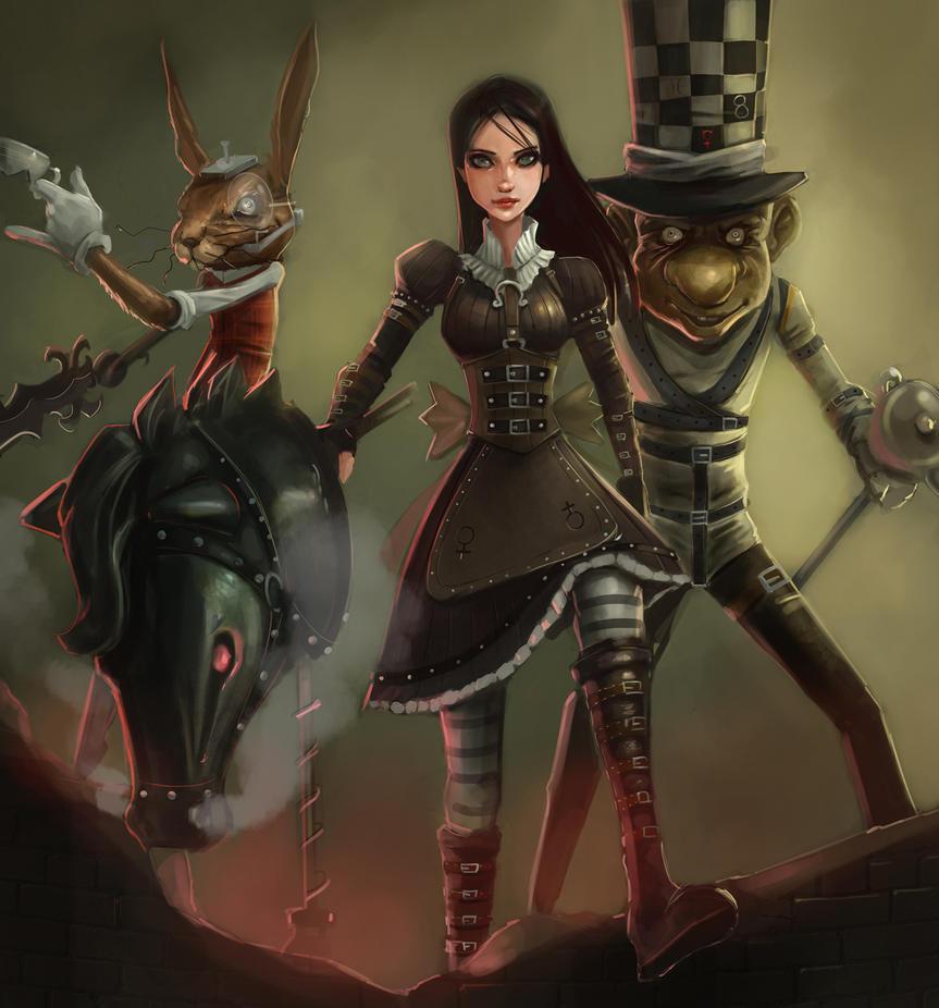 آلیس بازگشت جنون