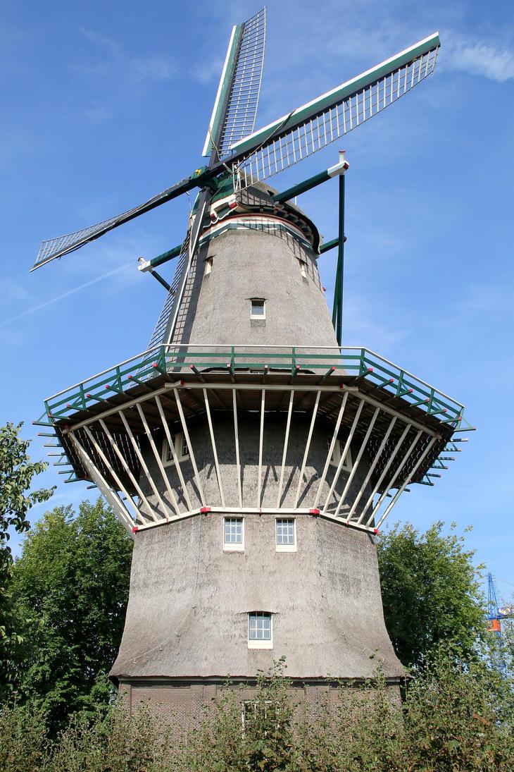 Amsterdam windmill by Budeltier