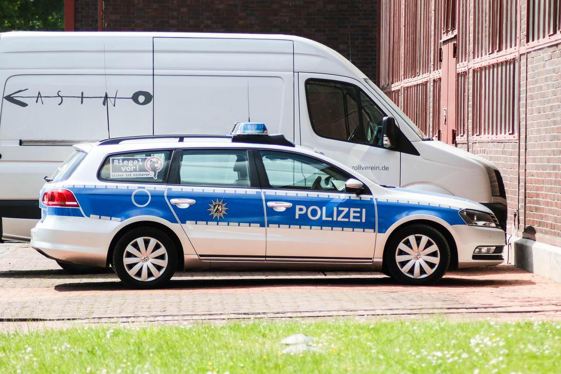 A break for a police car by Budeltier