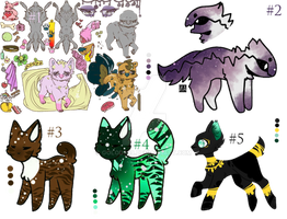 (3/6) adopts in the pack AUCTION | OPEN | POINTS
