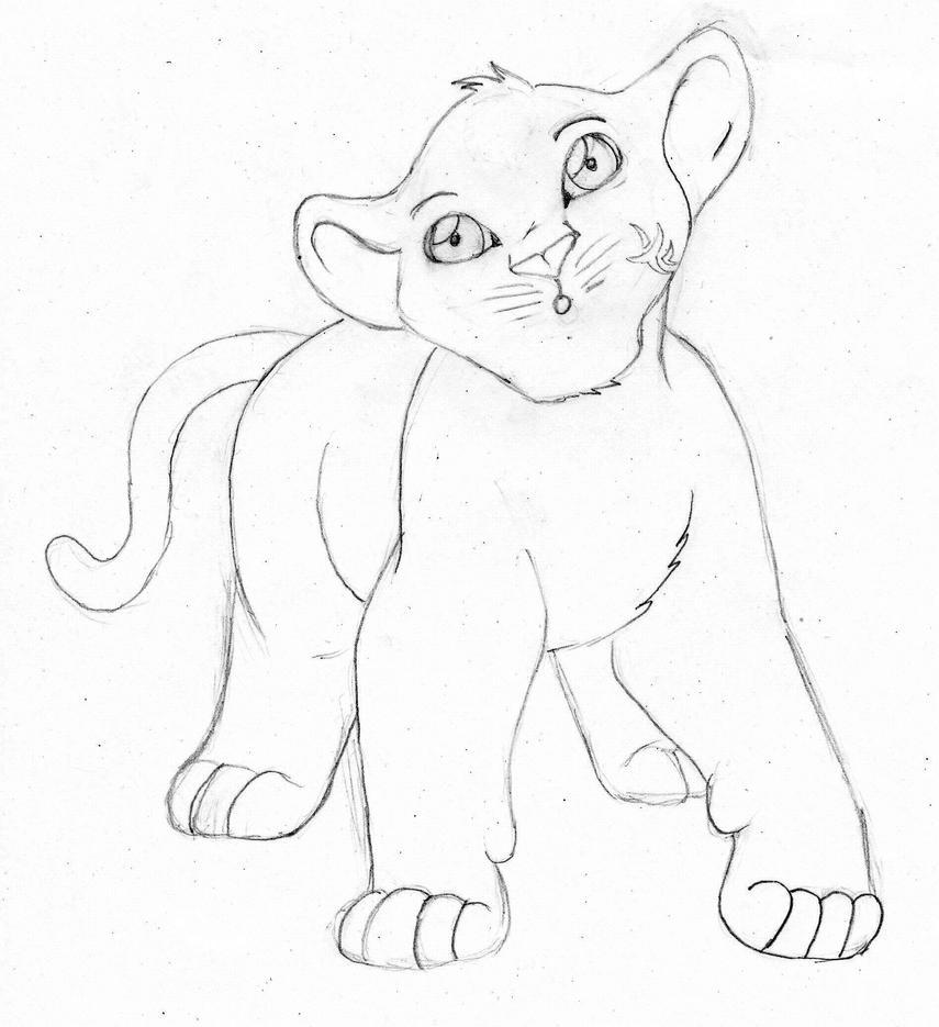 Reyueiu The Lion King style by EdgeOfDestruction