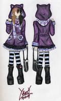 gothic lolita design 4 by Yukari07
