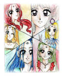 manga mosaic