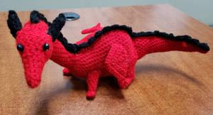 Crocheted 'Baby' the dragon (KoS) 3