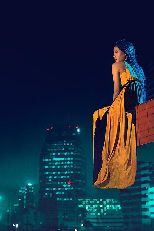 LILY IN BANGKOK by simsalabima