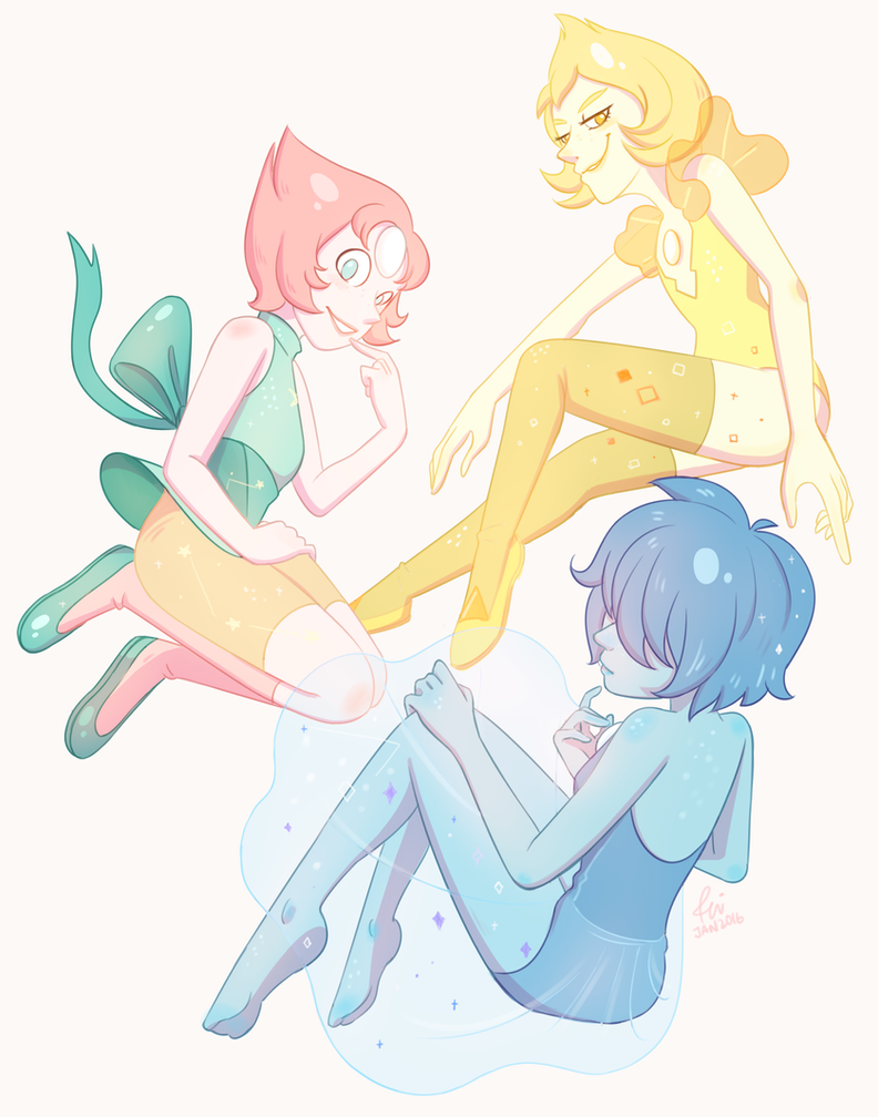 First fanart of the year and it's Steven Universe stuff ; 3 ; I was hoping to make this a print, what do you guys think?