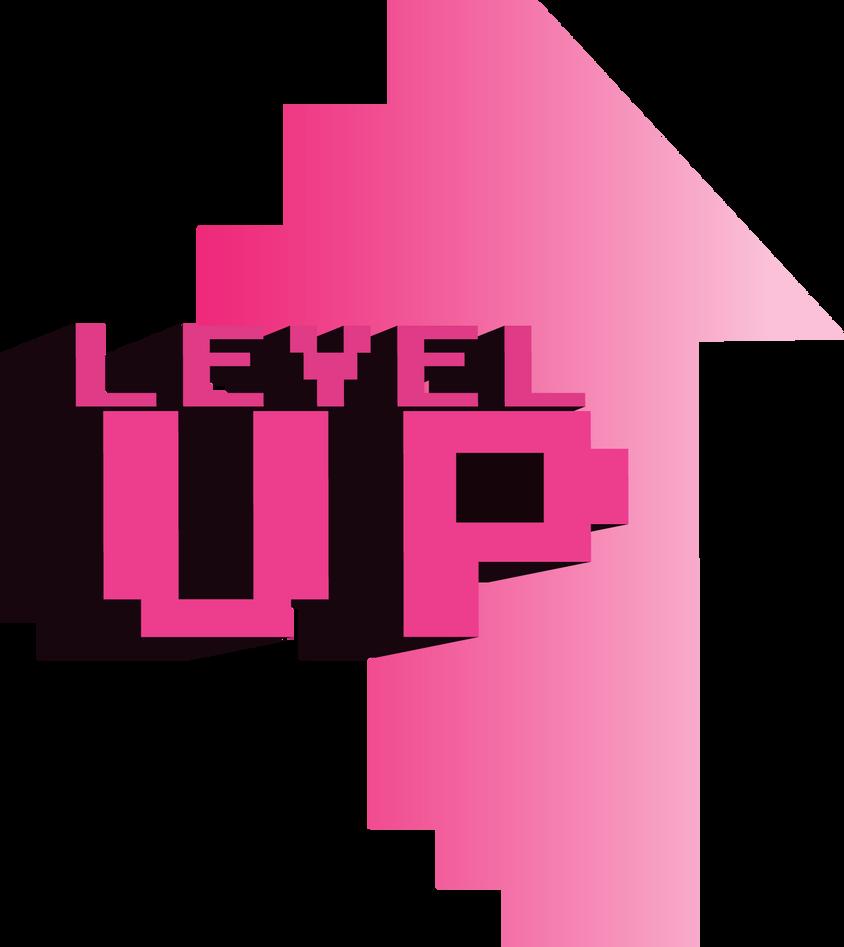 level up logo design by angieferet on deviantart