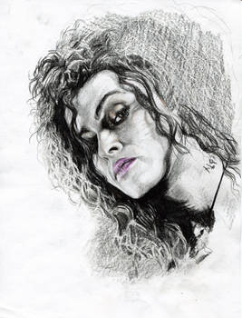Bellatrix Lestrange in progress.