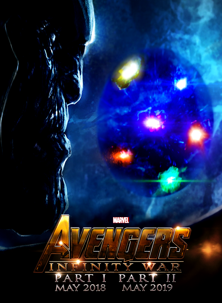 avengers 3: infinity war part 1 part 2 poster by urufubdxxx on